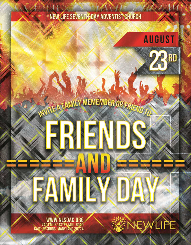 friends and family day flyer png photos of new life